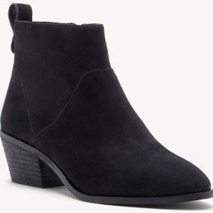 Sole Society Women's Size 6.5 Black Vixen Booties